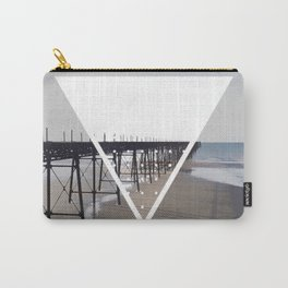 Victorian Pier - triangle Carry-All Pouch