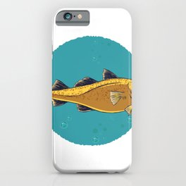 cod fish iPhone Case