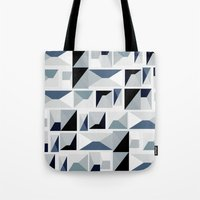 sansa stark Tote Bags featuring Stark  by Ilsa Falis