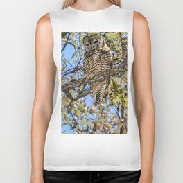owl. Mexican spotted owl Biker Tank