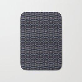 Chromatic Pattern Bath Mat