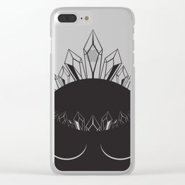The Crystal Goddess Clear iPhone Case