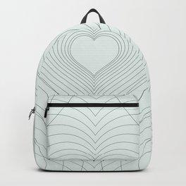 Love Heart Pattern #society6 #love #buyart Backpack
