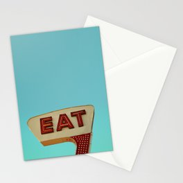 Eat Stationery Cards