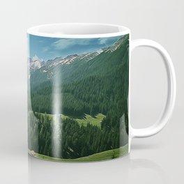 farmhouse in mount Coffee Mug