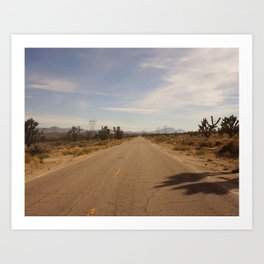 Through the Mojave Art Print