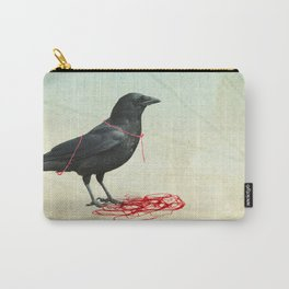 freedom  _ black crow Carry-All Pouch