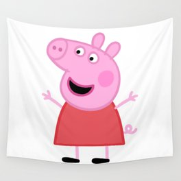 Peppa Pig Happy Wall Tapestry