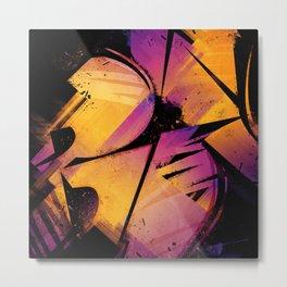 B--Abstract Metal Print