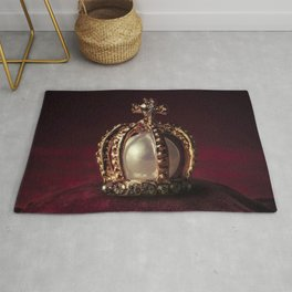Golden Crown Rug