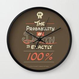 Morbid Reality #01 Wall Clock