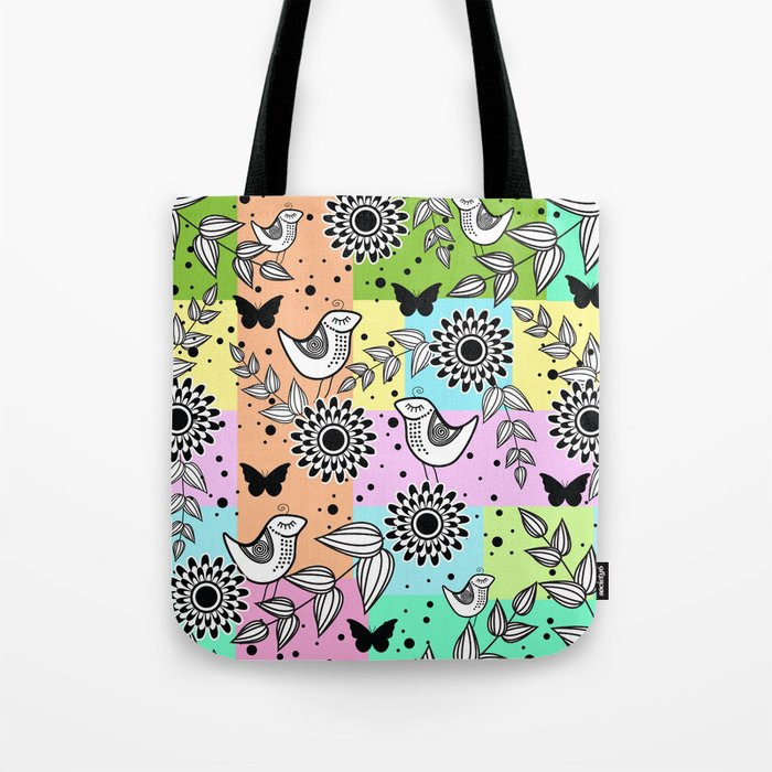 Pattern S Tote Bag