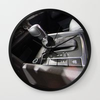 volkswagen Wall Clocks featuring Volkswagen Amarok Highline Cambio by Mauricio Santana