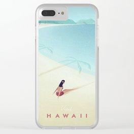 Hawaii Clear iPhone Case