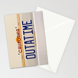California Out A Time Stationery Cards