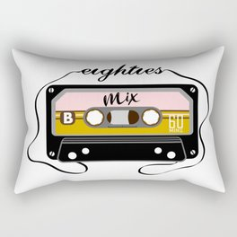 Eighties mix tape Rectangular Pillow