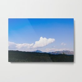 Landscape Blue sky Metal Print