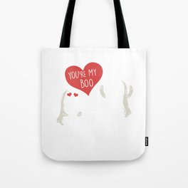 You're My Boo Halloween Scary Ghost Couple Spooky Hallows Eve Ghoul Gifts Tote Bag