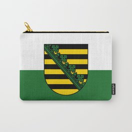 flag of Sachsen (historic state) Carry-All Pouch