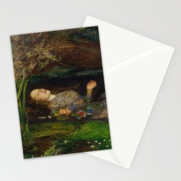 John Everett Millais - Ophelia Stationery Cards