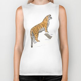 The Wild Ones: Siberian Tiger (illustration) Biker Tank