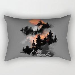 A samurai's life Rectangular Pillow