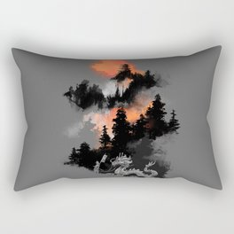 A samurai's life Rectangular Pillow