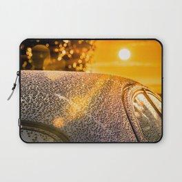 Car Detailing Sunset Beading Laptop Sleeve