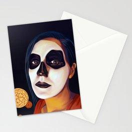GLOW, DAY OF THE DEAD (dia de los muertos) Stationery Cards