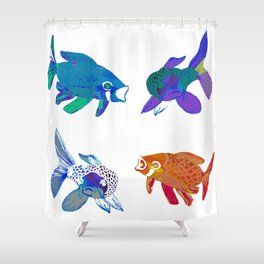 Koi Mash Up Shower Curtain
