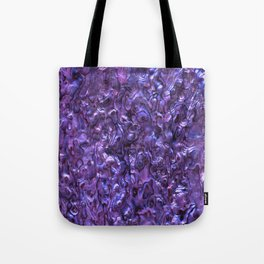 Abalone Shell | Paua Shell | Violet Tint Tote Bag