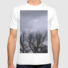 Dusk in the Valley Mens Fitted Tee White MEDIUM