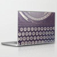 typewriter Laptop & iPad Skins featuring Typewriter by Jessica Torres Photography