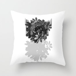 Sadly, there are no parachutes for plants. Throw Pillow