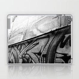 Grey Graffiti Laptop & iPad Skin