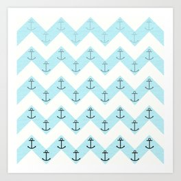 Anchors Art Print