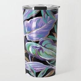 Spring tropical leaves Travel Mug
