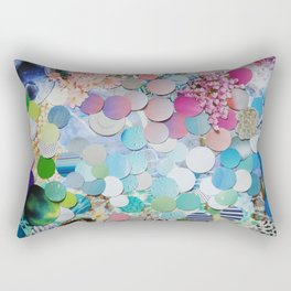Blueberry Garden Rectangular Pillow