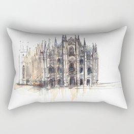 Duomo di Milano. Rectangular Pillow