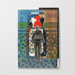 Artist Trading Card Okeko Metal Print