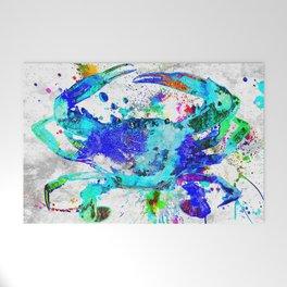 Blue Crab Welcome Mat