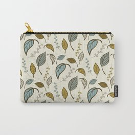 Leaves pattern 01 Carry-All Pouch