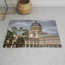 Royal Exhibition Building Architecture Rug