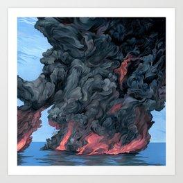Clouds #11 Art Print