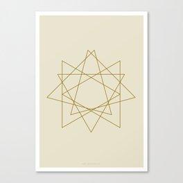 Geometric No.1 Canvas Print