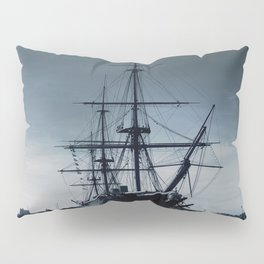 Ship The Warrior HMS 1860 Pillow Sham