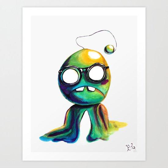 BOBsicle Art Print