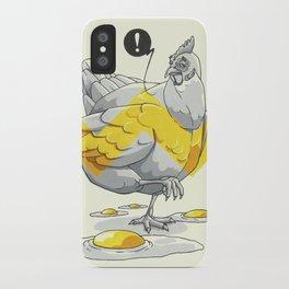 Chicken in the kitchen iPhone Case