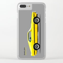Shelby Mustang GT350 Clear iPhone Case