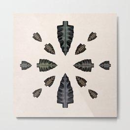 arrowhead collection Metal Print